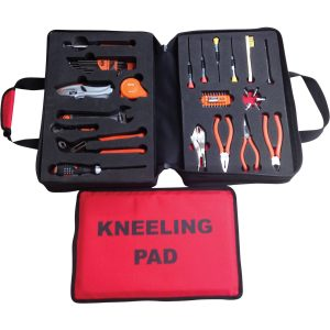 Flight Aid GA Tool Kit in Nylon Bag with Tools – Imperial Kit, includes 47 Tools