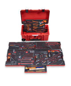RBI8000T® Helibox Trolley Case with Tools – imperial/metric Kit, includes 236 Tools