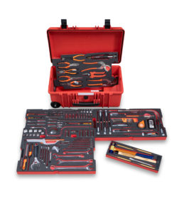 RBI9400T Mechanic Hand Trolley Case with Tools – Imperial Kit, includes 161 Tools