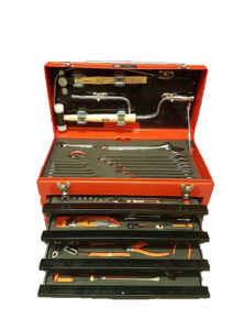 RBI8500TM – Airbus A320 Toolkit with 114 tools in a metal step case