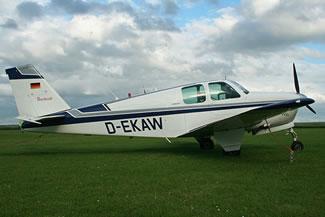 Beechcraft 33 Debonair Ground Power Equipment