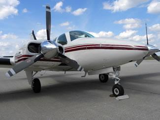 Beechcraft 55B Ground Power Equipment