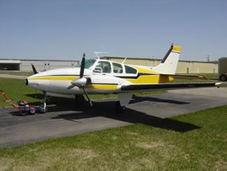 Beechcraft 55C/D/E Baron Ground Power Equipment
