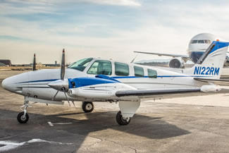 Beechcraft 58 Baron Ground Power Equipment