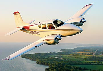 Beechcraft 95 Travel Air Ground Power Equipment