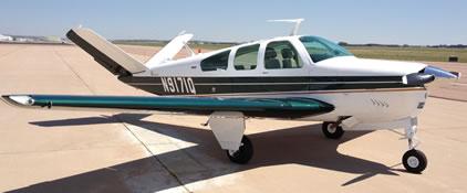 Beechcraft V35B Ground Power Equipment