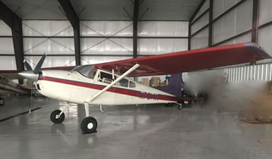 Cessna 180 Ground Power Equipment