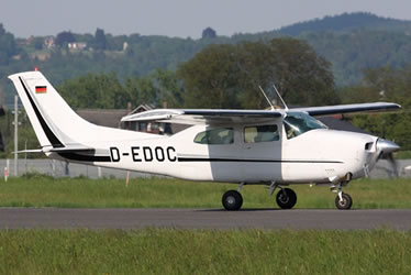 Cessna 210 Centurion Ground Power Equipment