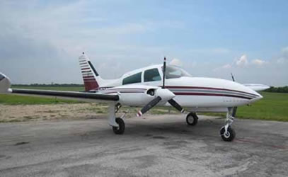 Cessna 310R Ground Power Equipment