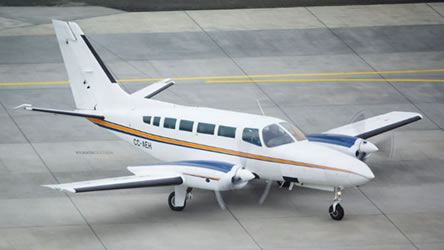 Cessna 404 Titan Ground Power Equipment