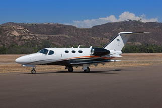 Cessna Citation Mustang Ground Power Equipment by Red Box Aviation