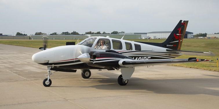 Hawker Beechcraft Baron Ground Power Equipment