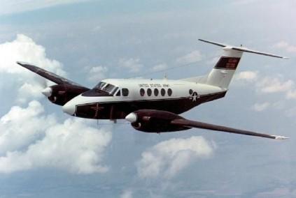Hawker Beechcraft C-12 Ground Power Equipment