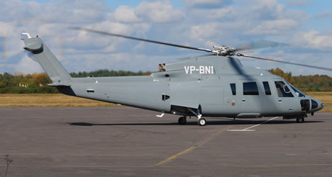 Sikorsky S-76 (AUH-76) Ground Power Equipment